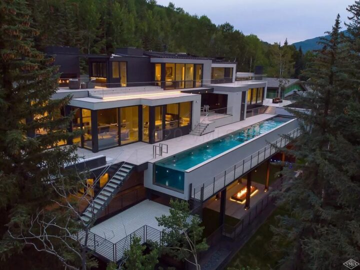 $45 Million New Modern Contemporary Estate in Vail, Colorado