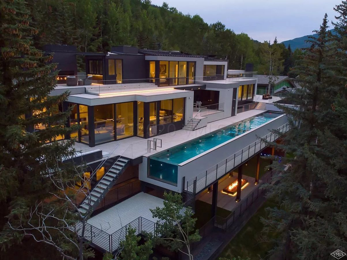 New Modern Contemporary Estate in Vail, Colorado