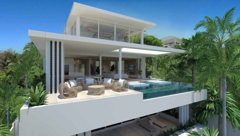 Pacific Coast House Concept in Queensland by Chris Clout Design