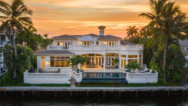 Stunning Villa Paradiso in Boca Raton for Sale at $7.6 Million