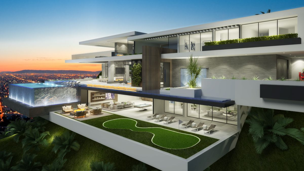 Sunset Plaza Residence Concept, Los Angeles by CLR Design Group
