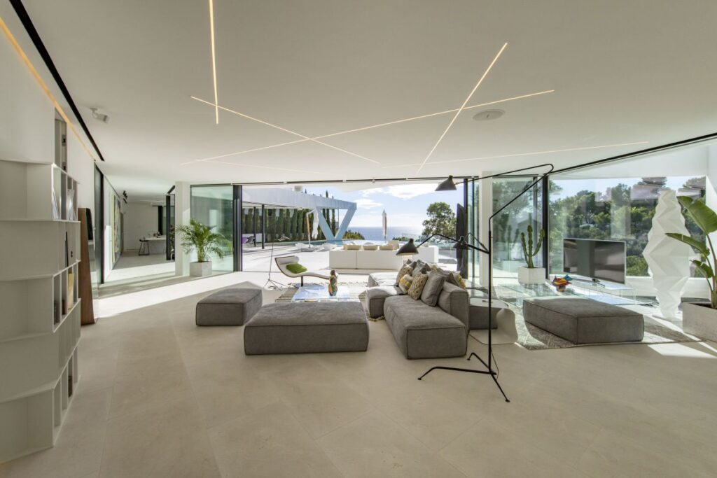 Triangles House in Ibiza, Spain with Unique Design by MG & AG Architects