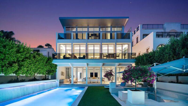 $19.3 Million Timeless Modern Miami Beach Masterpiece returns Market