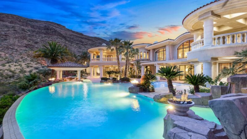 Timeless Red Arrow Custom Home in Las Vegas for Sale $5.5 Million
