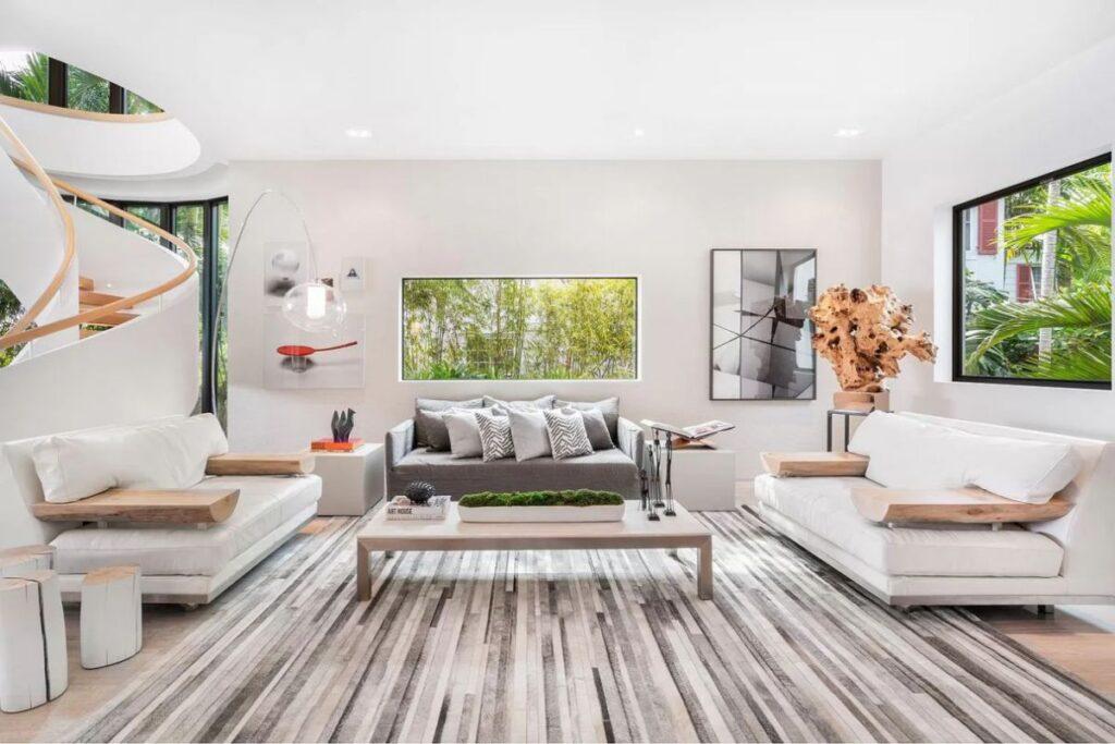 Tropically Designed Rivo Alto Modren Home in Miami Beach