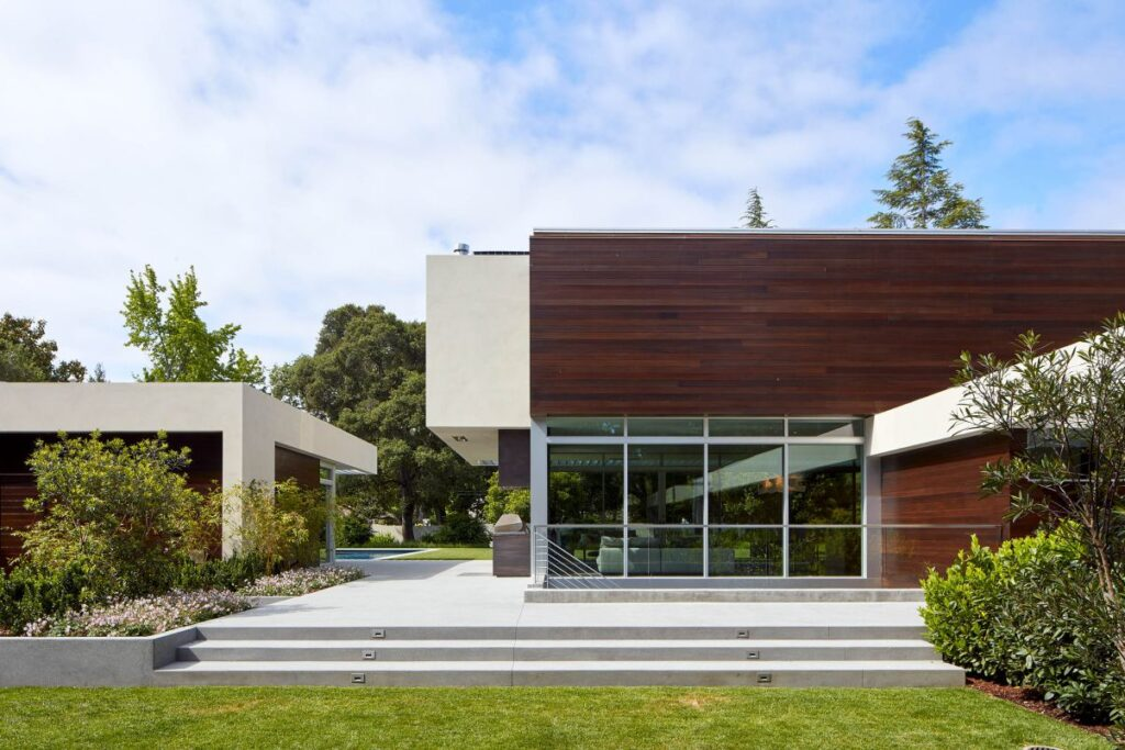 Amara Modern Residence in Atherton, California by Swatt Miers Architects