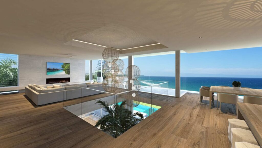 Architectural Concept of Coolum Beach House by Chris Clout Design