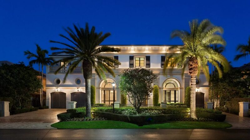 Boca Raton Florida Deepwater Estate for Sale at $7.95 Million