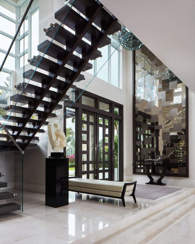 Boca Raton Modern Lakefront House built by Cudmore Builders