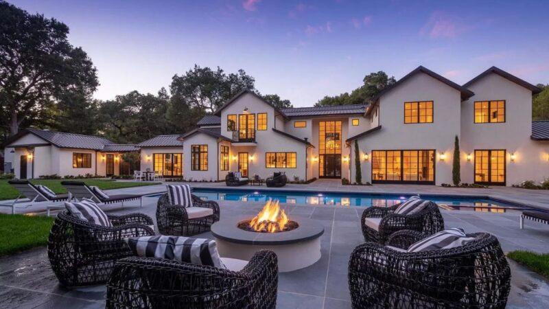 $12.6 Million Brilliantly Designed Brand New Home in Atherton California