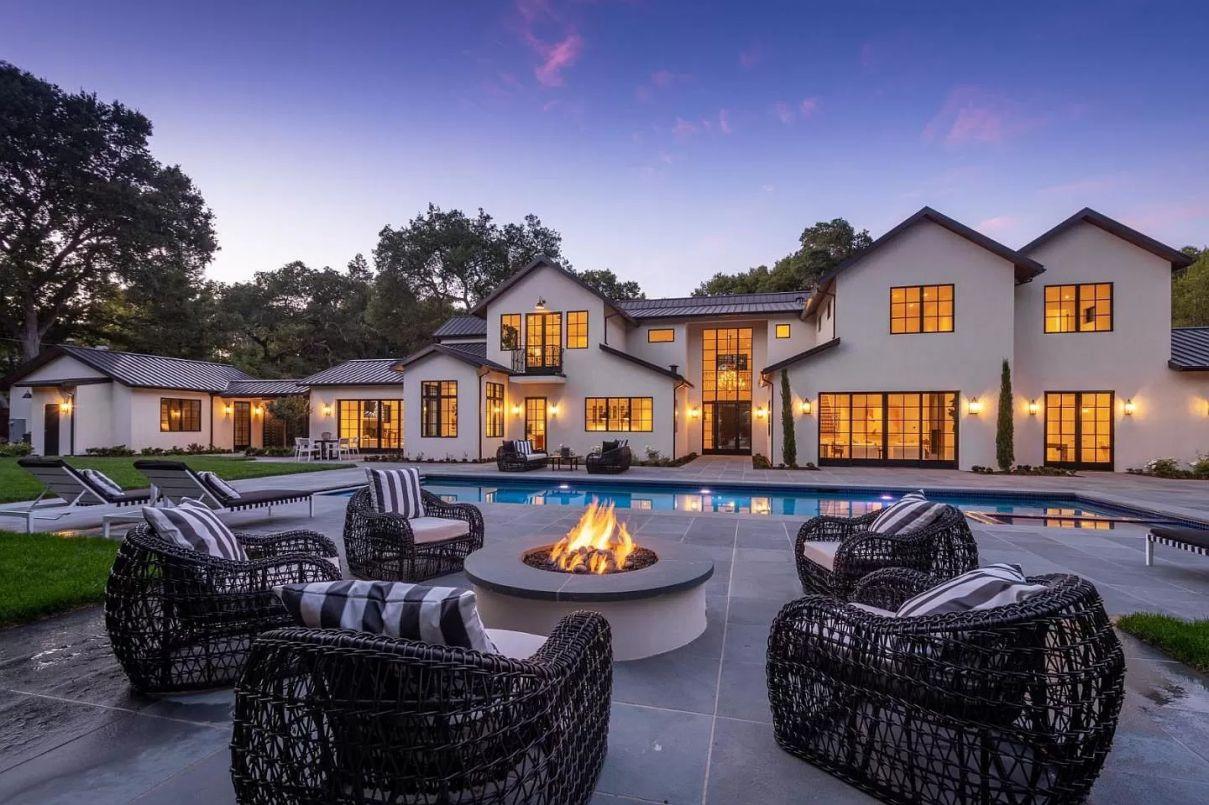 Brilliantly Designed Brand New Home in Atherton California