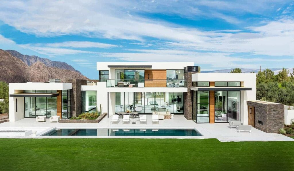 Chang Residence in Palm Springs, California by South Coast Architects