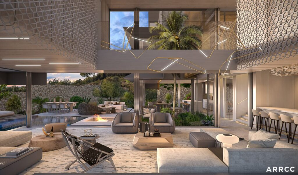 Conceptual Design of Barcelona Villa in Spain by SAOTA and ARRCC