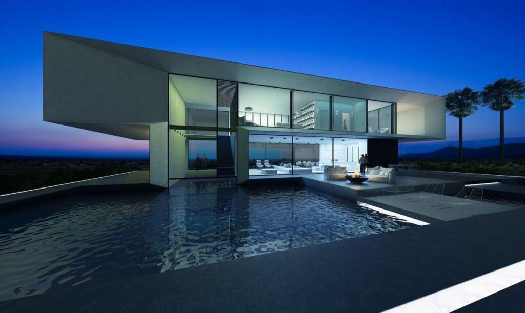 Conceptual Design of Qatar Villa by Alexander Zhidkov Architect
