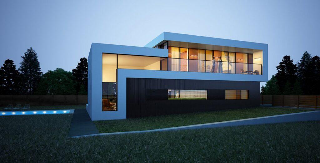Contemporary House Design Concept by Alexander Zhidkov Architect