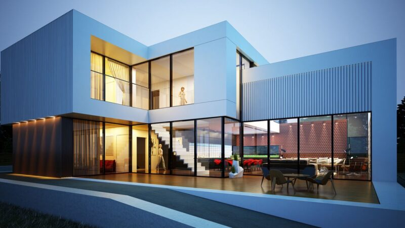 Contemporary House Design Concept by Alexander Zhidkov Architect