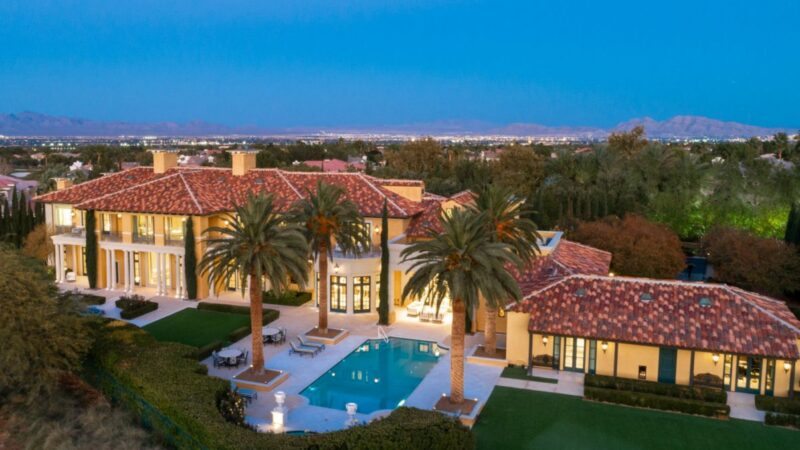 Elegent and Timeless European Villa in Las Vegas for Sale at $25 Million