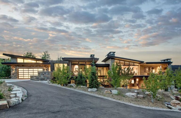 Exquisite Modern Park City Home for Sale