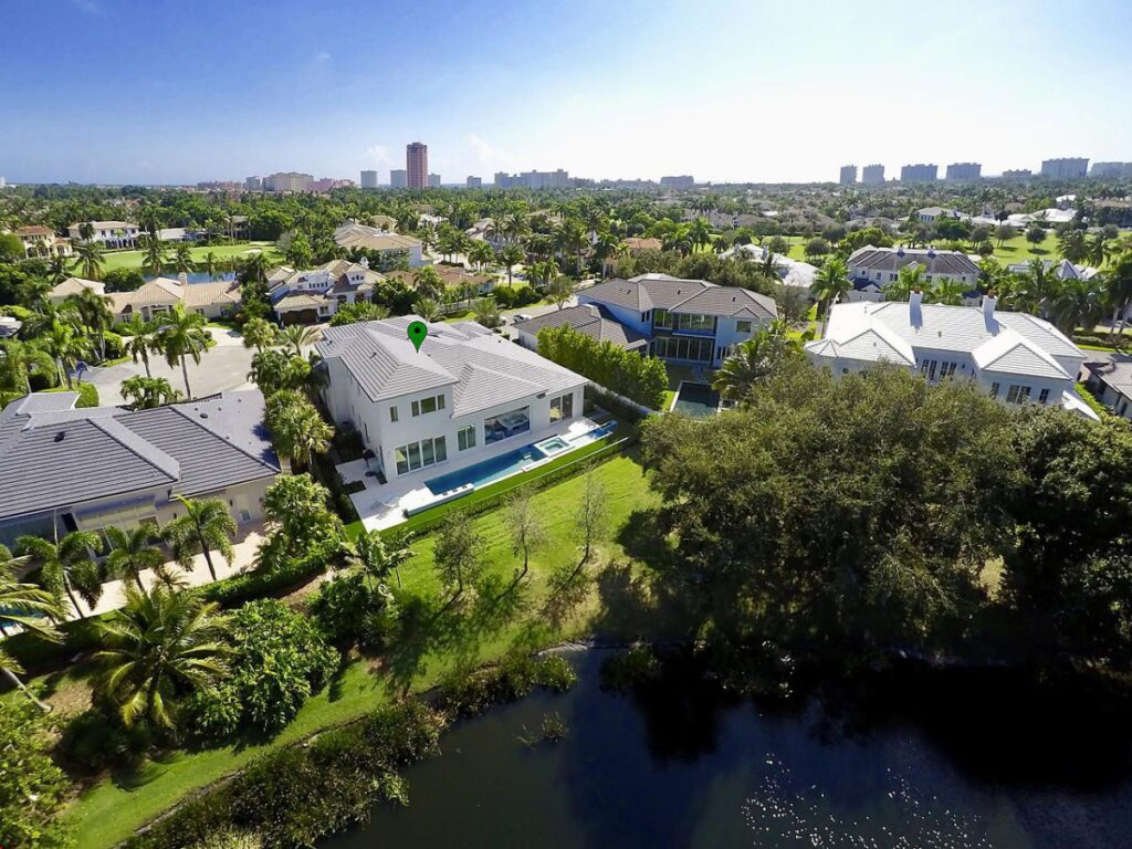 Florida Waterfront Home in Boca Raton for Sale