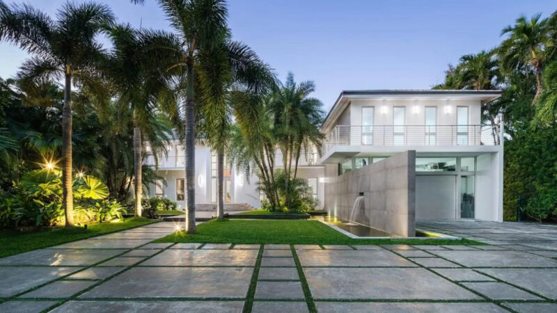 Fully Renovated House in Miami Beach for Sale at $16.9 Million