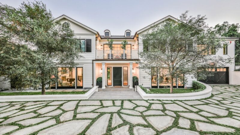 $25 Million Georgian Traditional Home for Sale in Beverly Hills