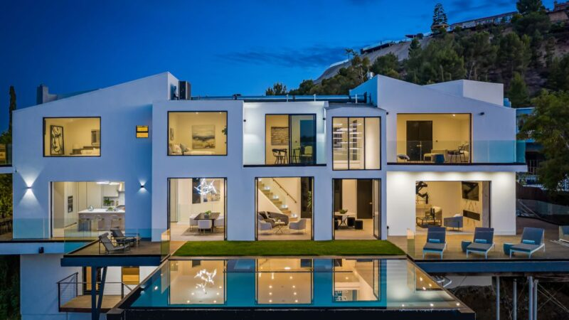 Hollywood Hills House Set Behind Private Gates hit Market for $5.5 Million