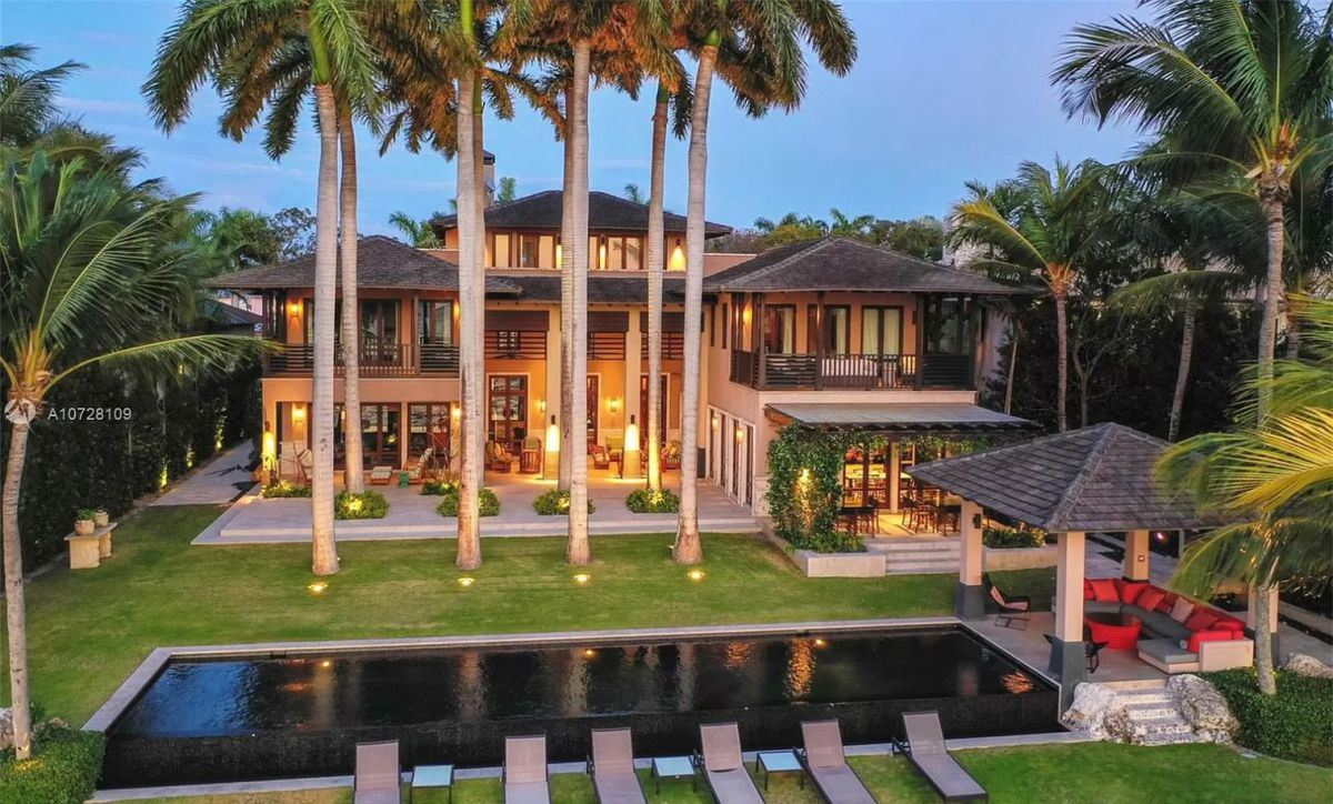 Key Biscayne Home for Sale at $16.5 Million offers Miami Luxury Living