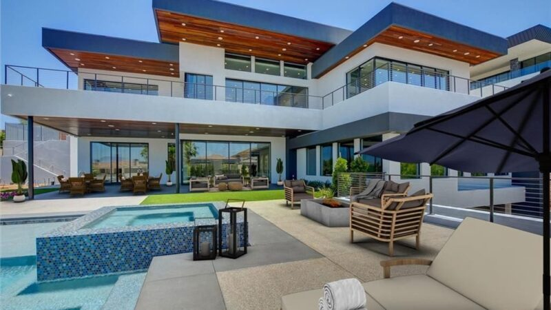 Las Vegas Luxury Home with Inspirational Views for Sale at $5 Million