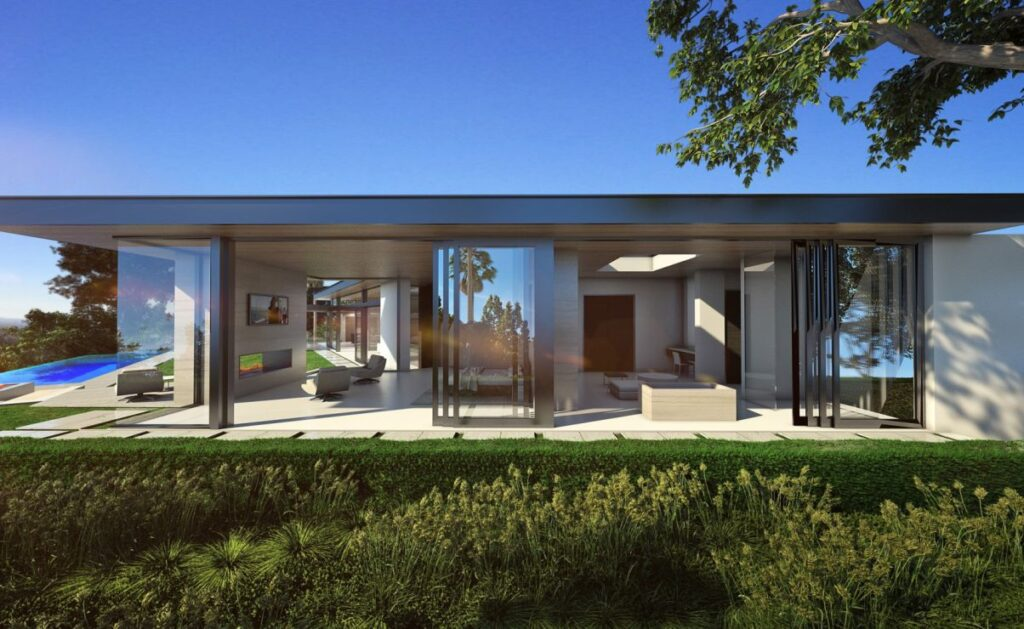 Laurel Way Modern Home Concept, Beverly Hills by McClean Design