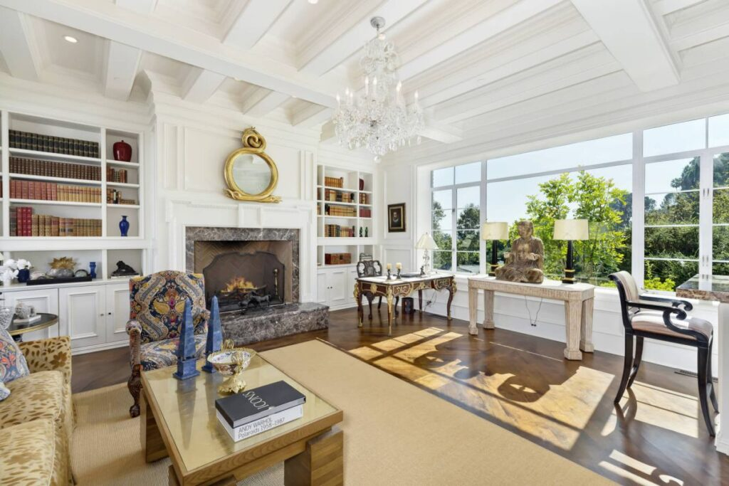 Los Angeles Mansion in Lower Bel-Air's Best Location