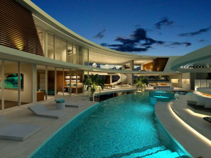 Luxury Home Design Concept in Melbourne, Victoria by Chris Clout Design