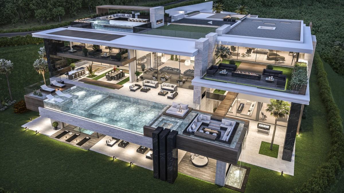 Magnificently Superb La Zagaleta Villa Concept In Marlloca Spain