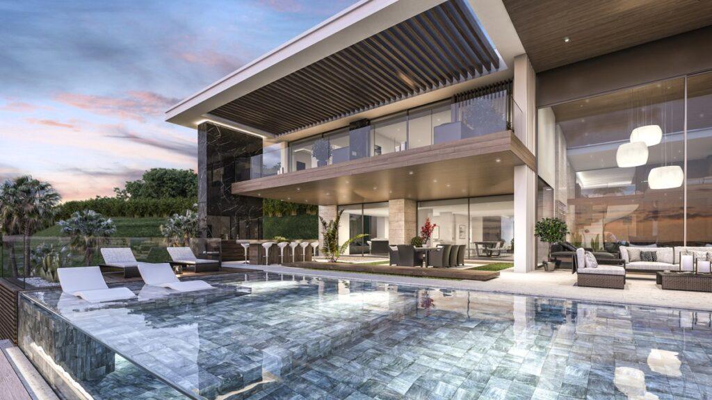 Magnificently Superb La Zagaleta Villa Concept in Marlloca, Spain