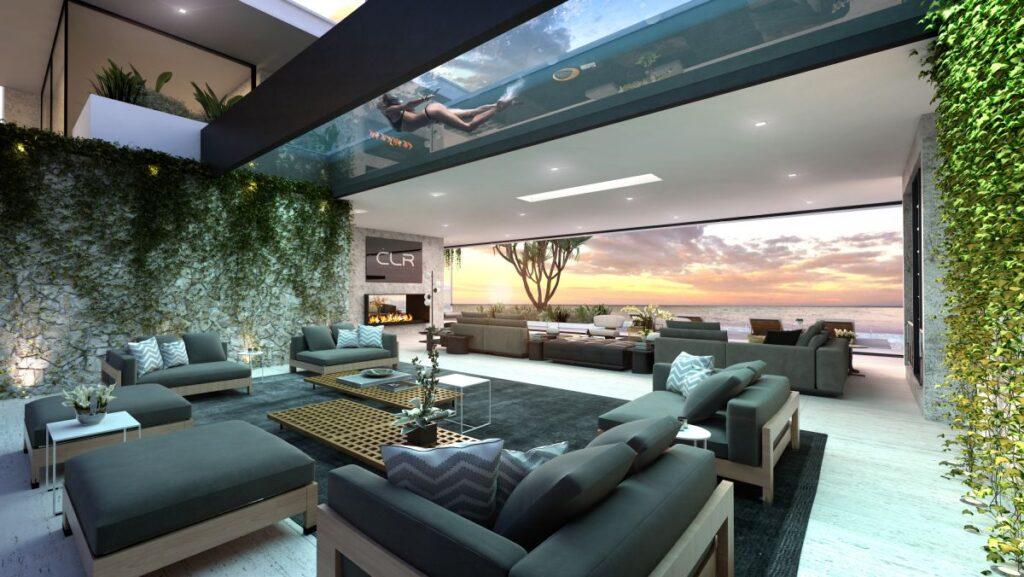 Malibu Modern Home Design Concept by CLR Design Group