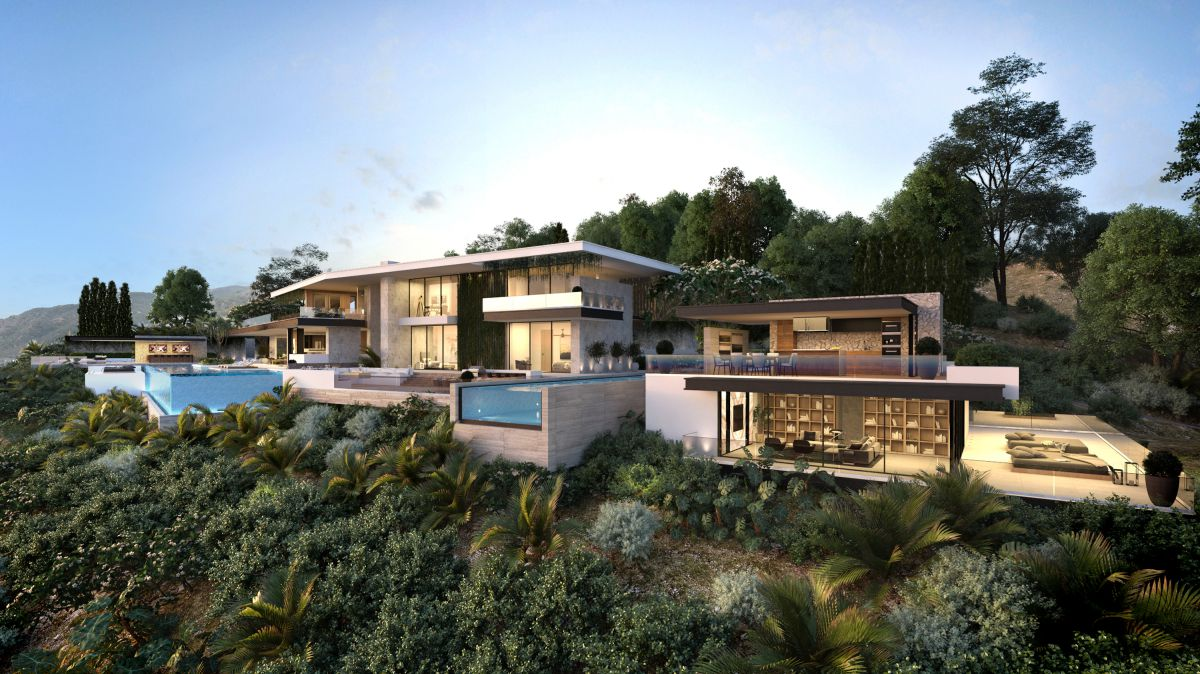 Malibu Modern Home Design Concept by CLR Design Group