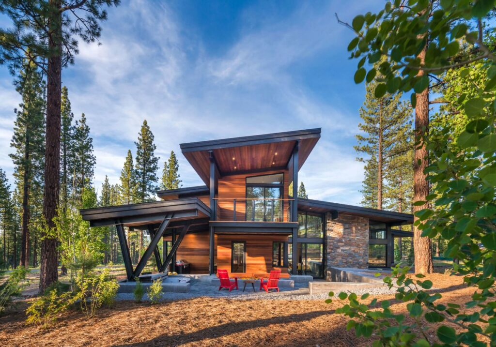 Martis Camp Newhall Drive Home in California by Sagemodern