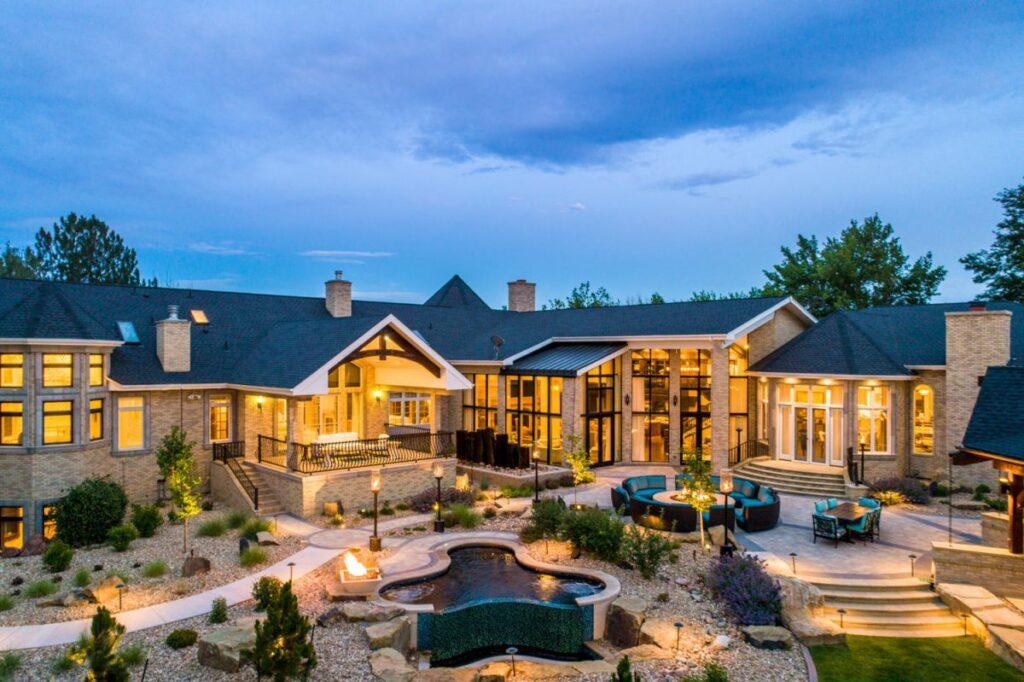Masterfully Designed Swan Lake Estate on Market