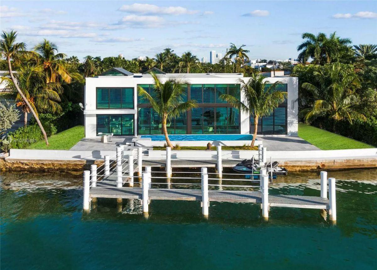 Miami Beach Florida Brand New Home on Market