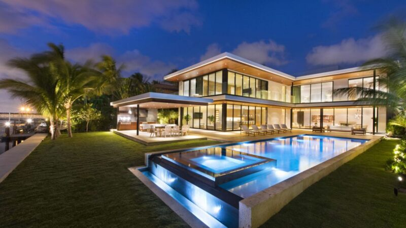 Miami Beach Modern Waterfront Home by In-Site Design Group LLC