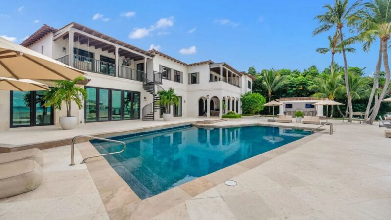 Miami Beach Resort Style Home for Sale at Asking Price $26.5 Million