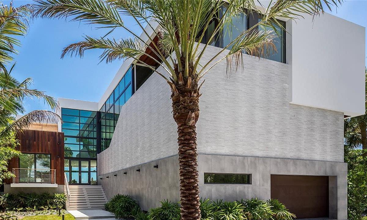 Miami House on the Prestigious Belle Meade Island for Sale $7.5 Million