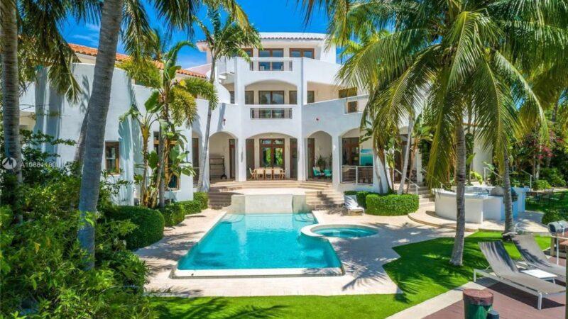 Modern Mediterranean Key Biscayne House for Sale at $7.8 Million