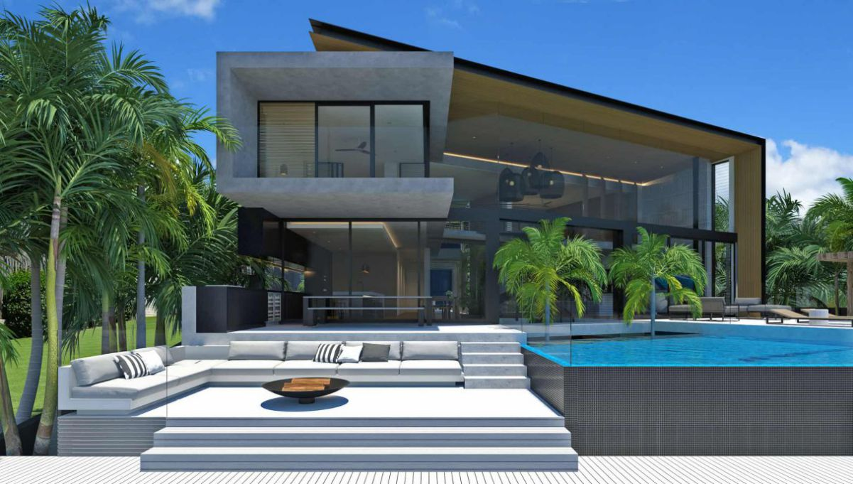 Queensland's Yacht House Design Concept by Chris Clout Design