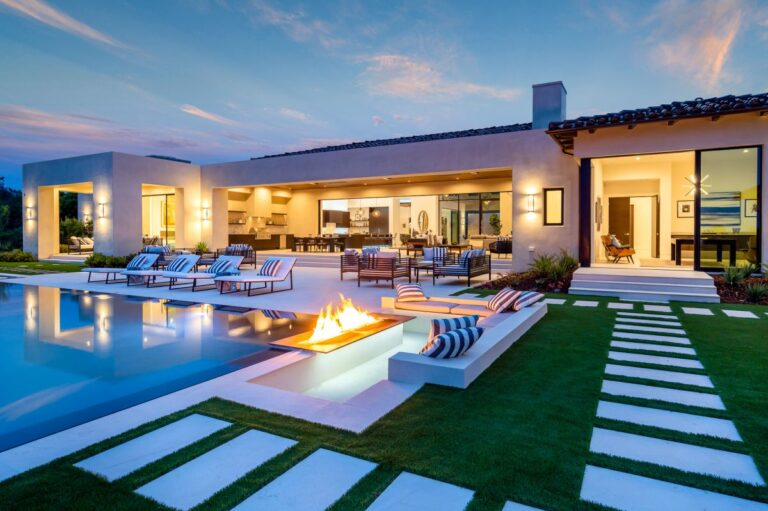 Rancho Santa Fe Iconic New Construction Home for Sale
