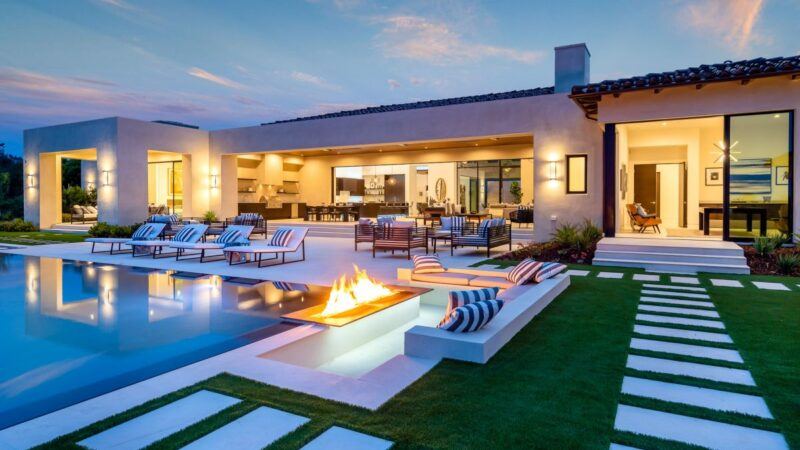 Rancho Santa Fe Iconic New Construction Home for Sale at $11.9 Million