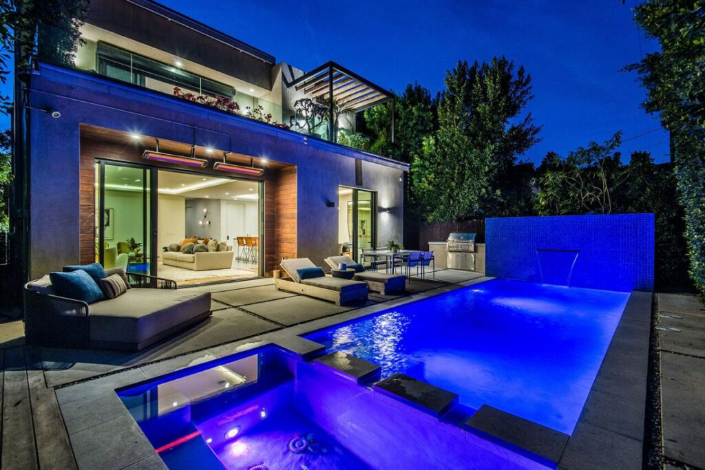 Refined Architectural West Hollywood House