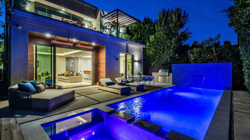 Refined Architectural West Hollywood House for Rent $20,000 per Month