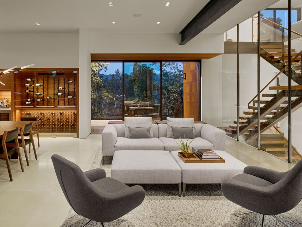 Ridgeview Estate in Napa by Zack de Vito Architecture + Construction
