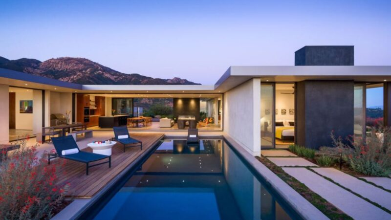 Santa Barbara House by Neumann Mendro Andrulaitis Architects
