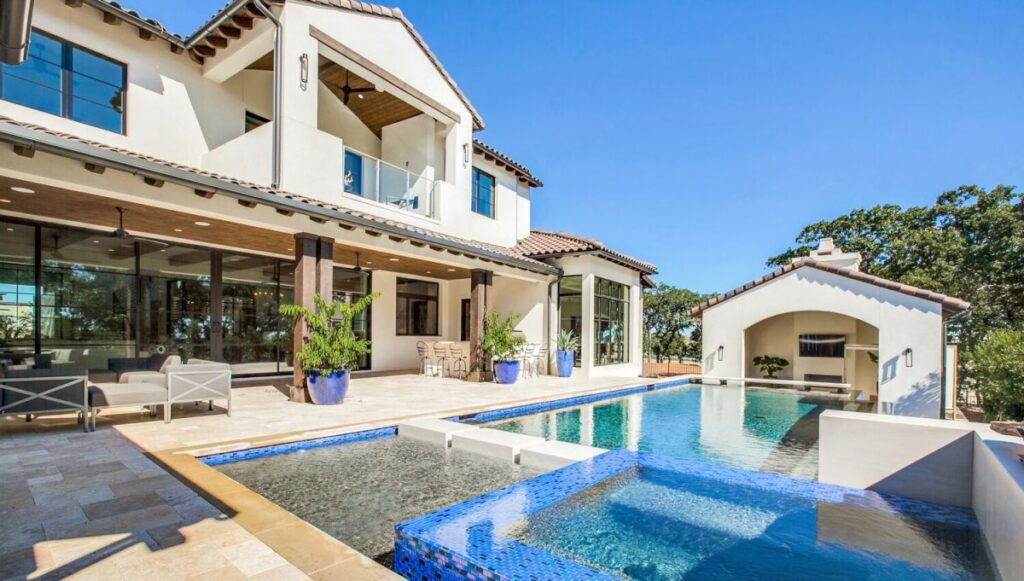 Spanish Westlake Modern Home in Austin, Texas by Vanguard Studio